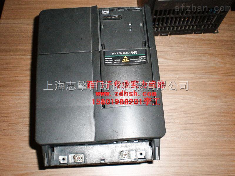 西门子MM440运行变频器内部冒烟