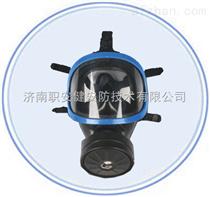 厂家直销济南职安健防护全面罩MFT3防毒面具 配小型滤毒罐