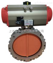 LD971F4-16C对夹耐腐蚀电动衬氟蝶阀,