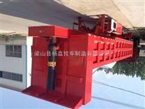 广东省深圳市10米53英尺骨架式平板后翻自卸运输半挂车哪有卖
