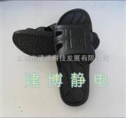 0118-防静电复合拖鞋/洁净拖鞋/无尘拖鞋/黑色防静电工作鞋