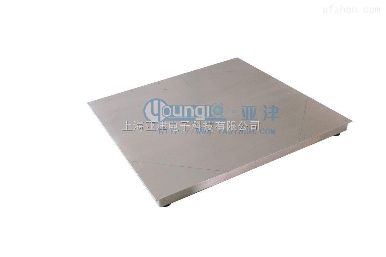 报警功能电子磅 带打印电子地磅 单层不锈钢地磅