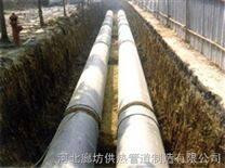耐高温聚氨酯预制保温管,直埋地下复合夹克管优质产品厂家