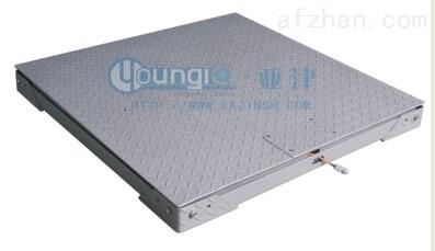超低双层碳钢报警功能电子磅