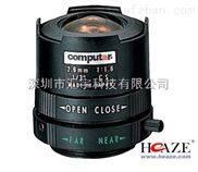 原裝Computar定焦手動光圈鏡頭
