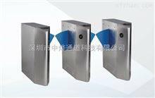 ZYTD供应闸机上安装摄像头对比身份证信息桥式圆柱通道闸