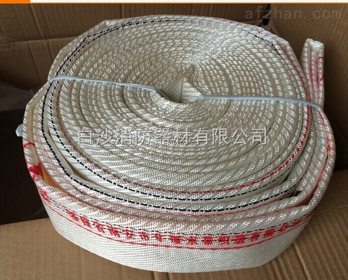 【简单介绍】用途及结构:有衬里消防水带由编织层和衬里胶层组成。它用于消防供水或输送其它灭火剂。其工作压力等级有8型和10型等。 规格 公称尺寸 工作压力 爆破压力 扭转角度 弯曲半径 mm MPa MPa (°)/m mm 50 51.0 0.8(1.0) 2.4(3.0) 140 750 65 63.5 120 1000