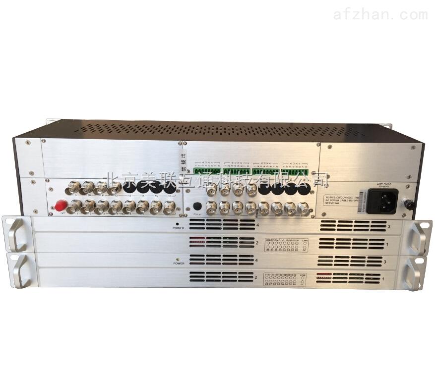 2路双向广播级视频光端机