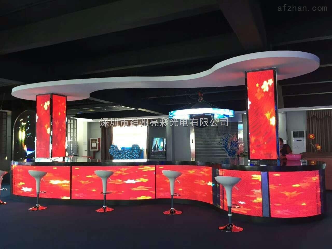 5 湖南平江县阜山景区接待中心大厅led电子大屏幕