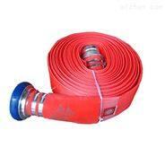 水龙江山牌13型50口径 抗水压 红色聚氨酯消防水带