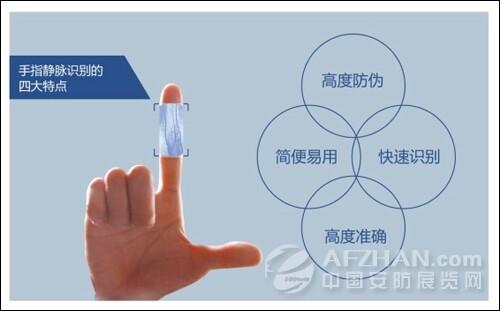 识别技术,它利用手指内的静脉分布图像来进行身份