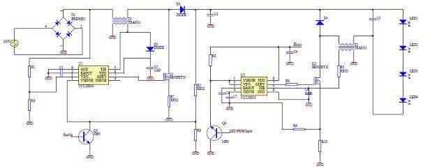 led路灯远程传感控制系统