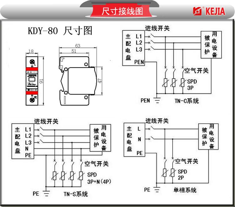 配电室零线和地线接线图